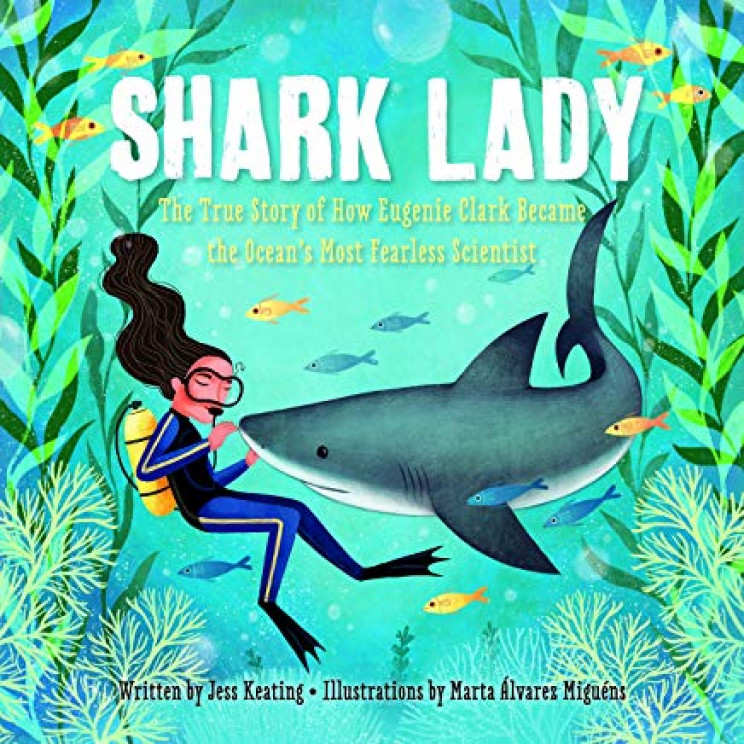 STEM books shark lady
