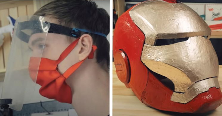 Here Is How to Make Your Very Own 3D-Sculpted Face Mask and Shield
