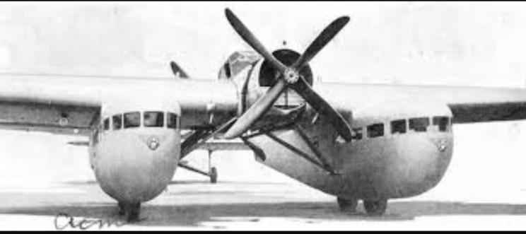 weird aircraft Bleriot 125