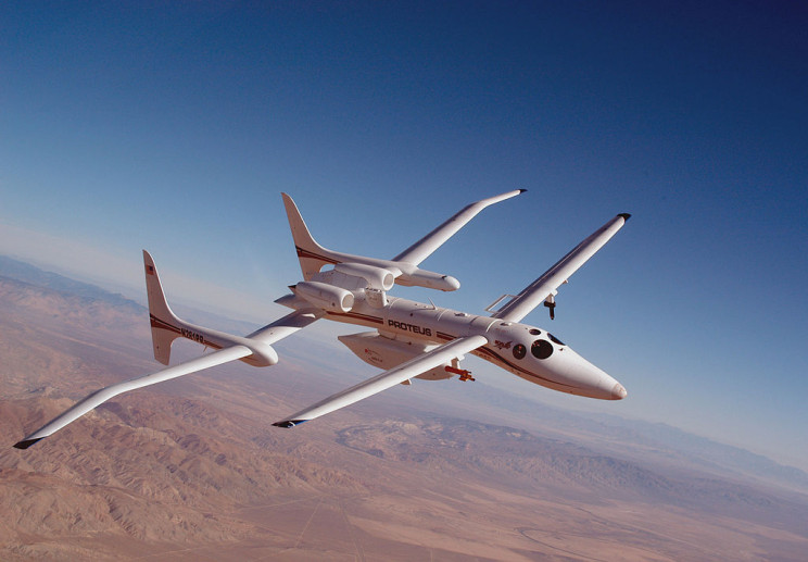 weird aircraft proteus