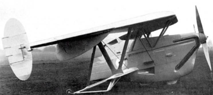 weird aircraft pterodactyl IV