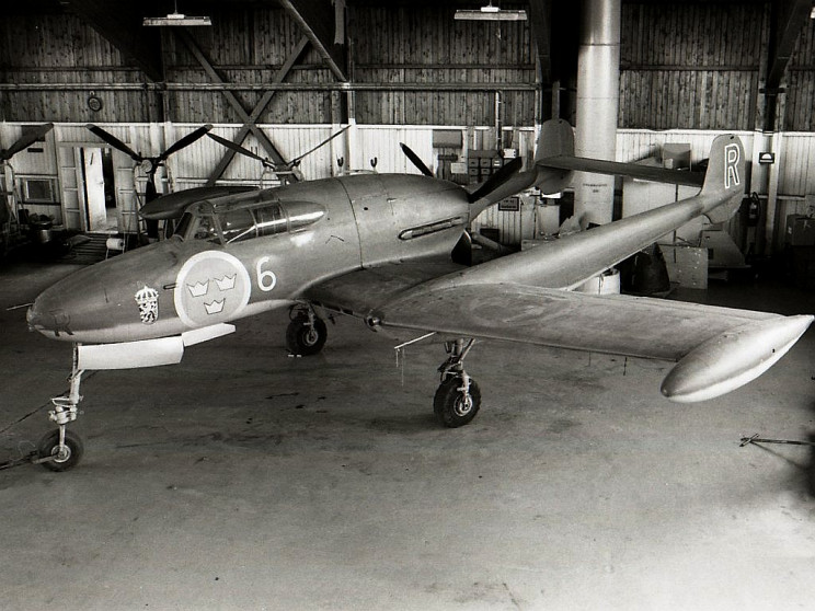 weird aircraft SAAB 21