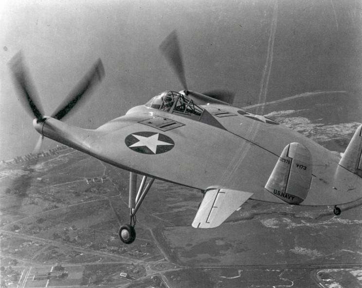 weird aircraft xf5u