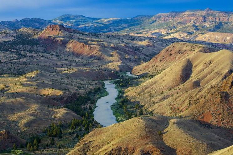 river that may dry up john day