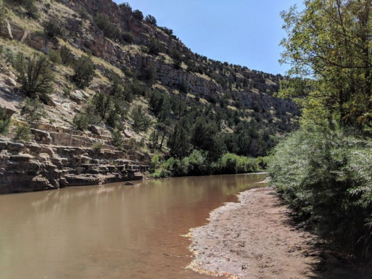 rivers that are drying up pecos