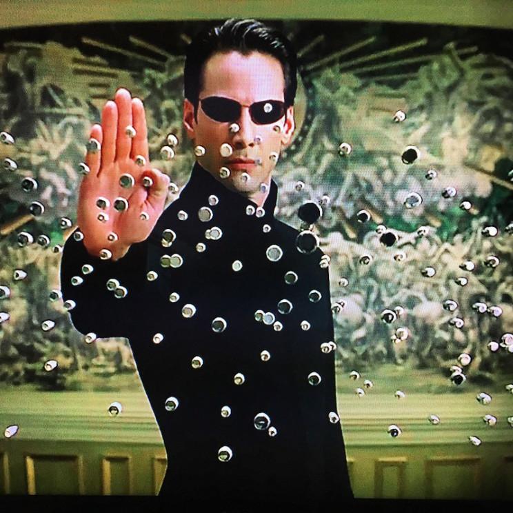 sci fi coming in april the matrix