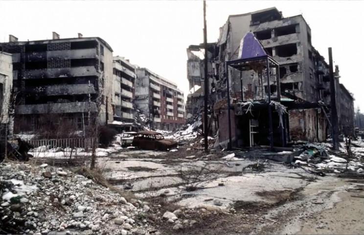 Bosnian civil war