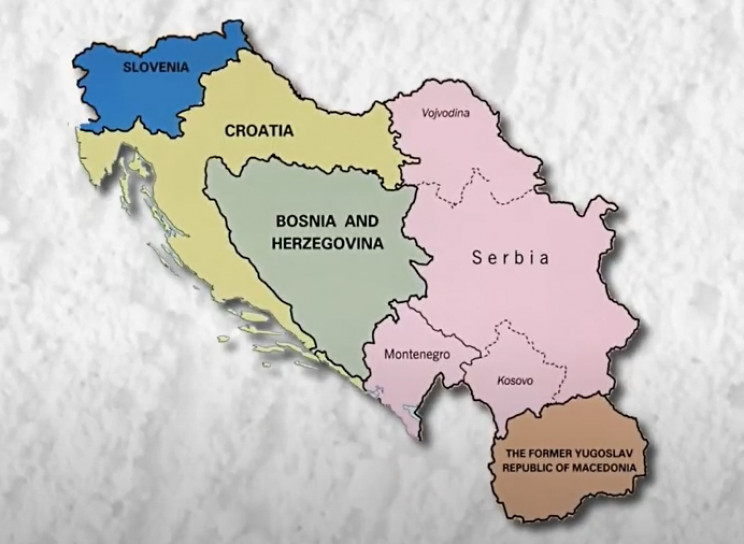 The former Yugoslavia