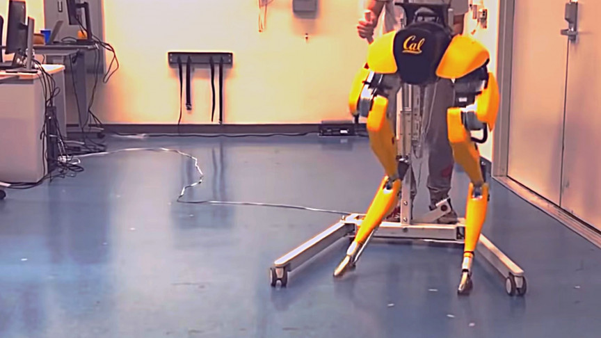 A Robot Taught Itself to Walk, Just Like a Baby