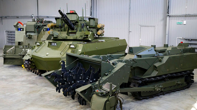 Russian Army Integrates Robot Tanks Into New Military Unit