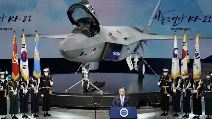 South Korea Unveils Indigenous Supersonic Jet KF-21 'Fighting Hawk'