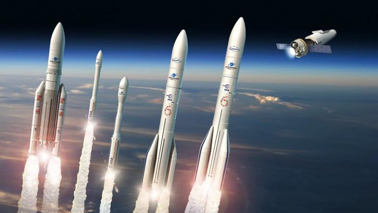 series of esa rockets