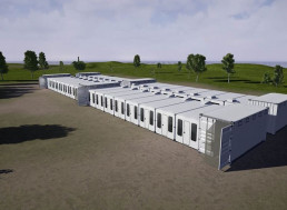 One-Of-A-Kind Humanihut Emergency Shelters Set up in under Five Minutes