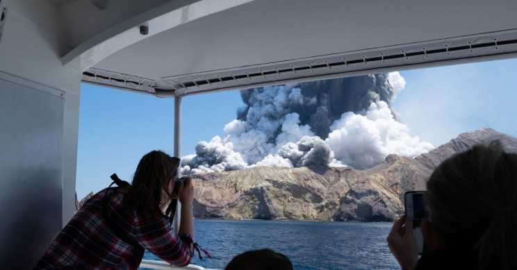White Island Volcano Erupted, One Dead, Several Missing