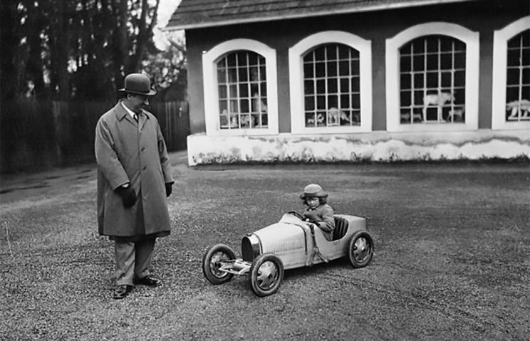 Bugatti Relaunches 89-Year-Old EV Design 'Baby'