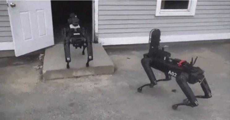 Massachusetts State Police Using Spot, Boston Dynamics' Robot Dog