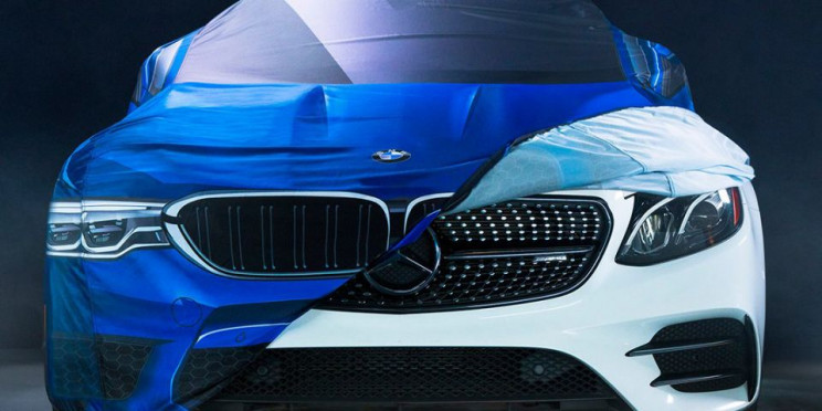 BMW Pokes Halloween Fun at Mercedes, Mercedes Hits Back