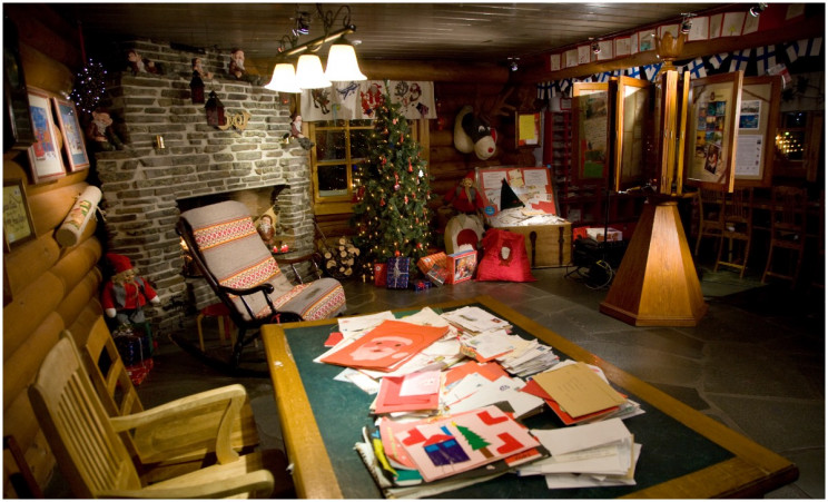 Santa Claus Main Post Office in Rovaniemi, Finland
