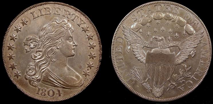 1804 Bust Dollar - Class I