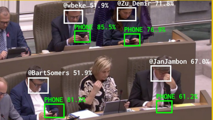 AI Tool Tracks the Time Politicians Spend on Their Phones