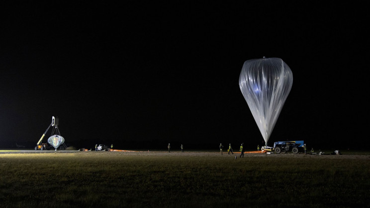 """A Gigantic """"Space Balloon"""" Just Completed Its First Flight"""