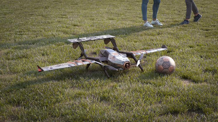 Hybrid Drone Combines the Best of Aircraft and Helicopter Design