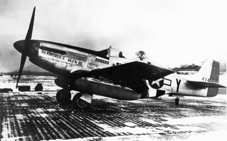 Chuck Yeager's WWII combat aircraft