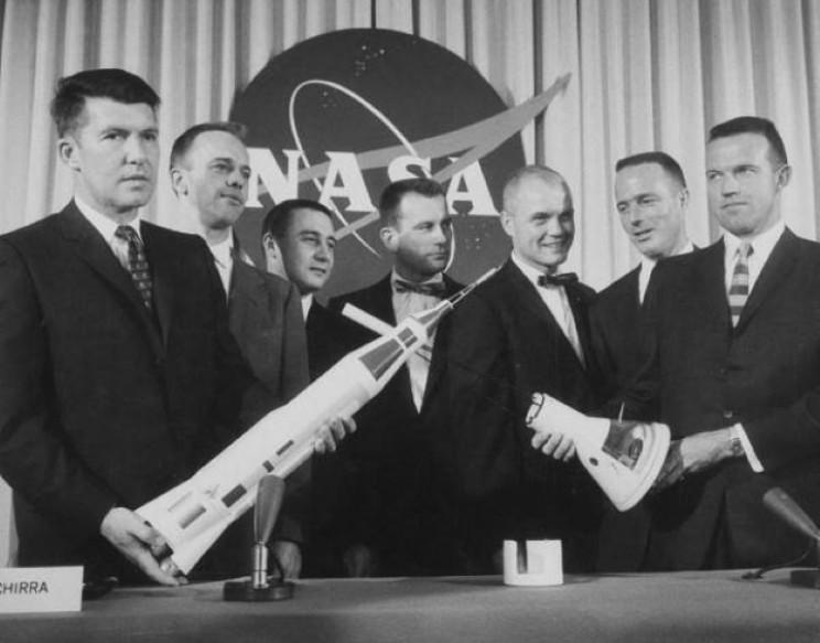 The Mercury 7 astronauts