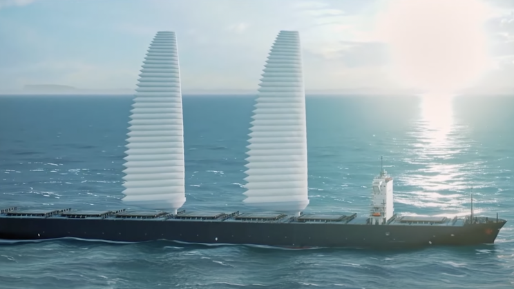 Michelin's AI-Enabled Inflatable Sails Cut Cargo Ship Fuel Consumption