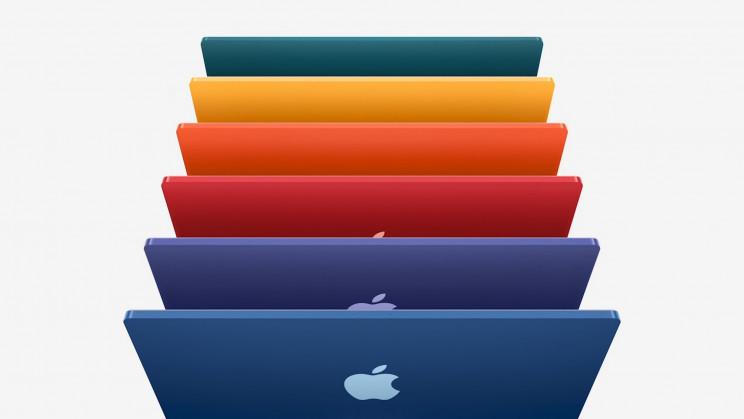 Colored iMacs