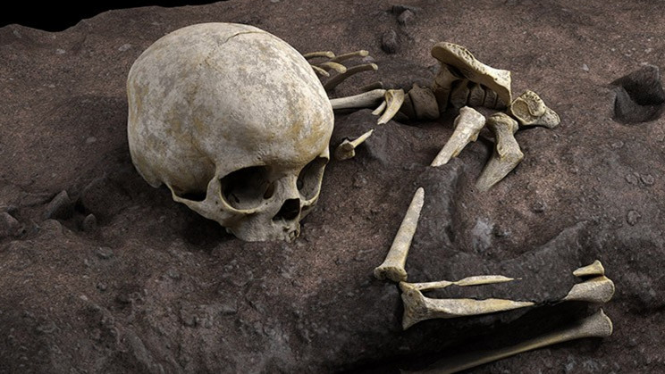 Unearthing of a Tiny Child Reveals Africa's Oldest Known Human Burial