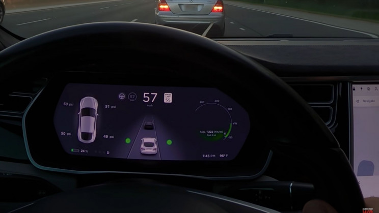 Tesla Battery Recharges Really Fast When Towed at 70 MPH