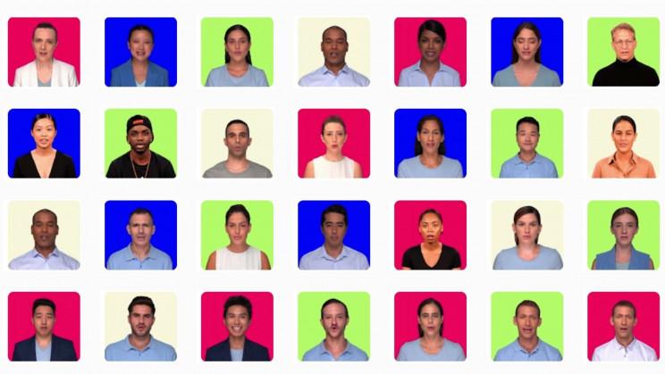 Hour One Deepfake Faces