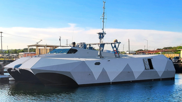 The US Navy's M80 Stiletto Test Ship Disrupted Drone Swarms During Trials