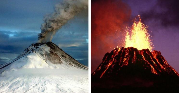 20 Most Dangerous Volcanoes in the U.S.