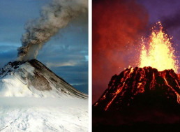 20 Most Dangerous Volcanoes in the U.S.