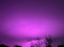 UV Lights From Massive Pot Farm Turns the Sky Purple in Arizona