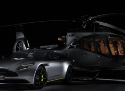 Airbus and Aston Martin Join Forces to Unveil Super Lux ACH130 Helicopter