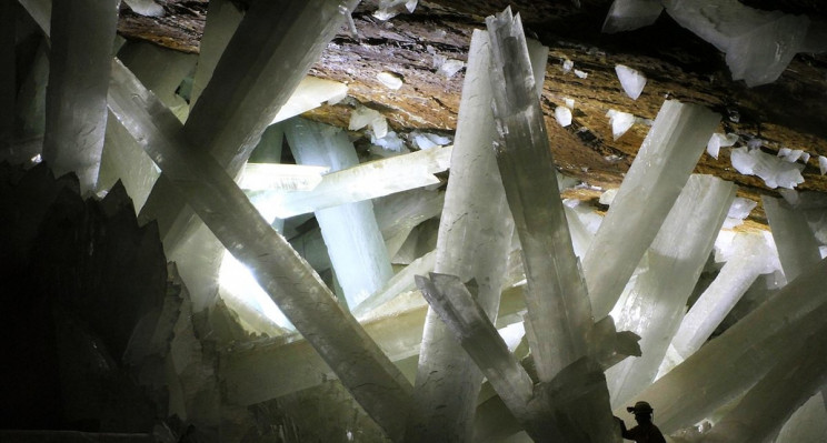 The World's Largest Crystals: Mexico's Cave of the Giant Selenite Crystals