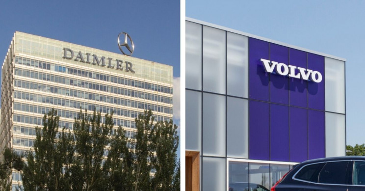 Volvo and Daimler Sign Joint Venture to Produce Fuel Cell for Trucks