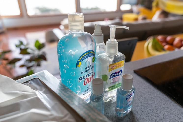 coronavirus myths hand sanitizer