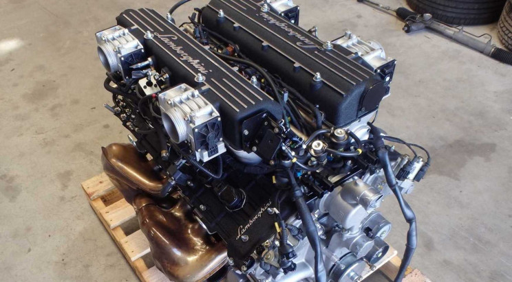 Someone Is Selling a Lamborghini Murcielago V12 Engine on eBay for $31K