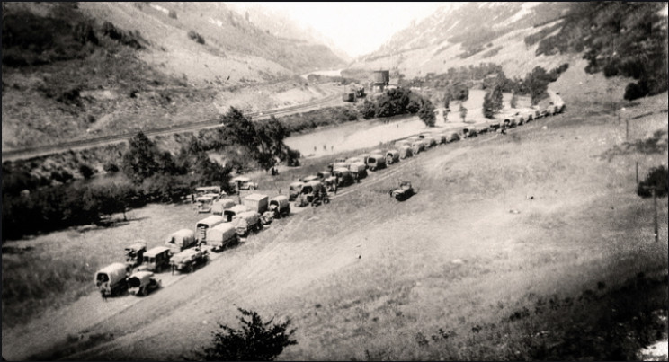 1919 Motor Transport Corps Convoy