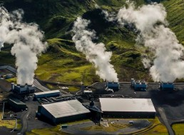 Iceland Turns CO2 Into Solid Rock