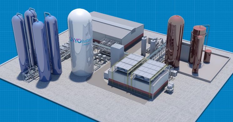 Storage System Turning Electricity into Liquid Air Starts Construction