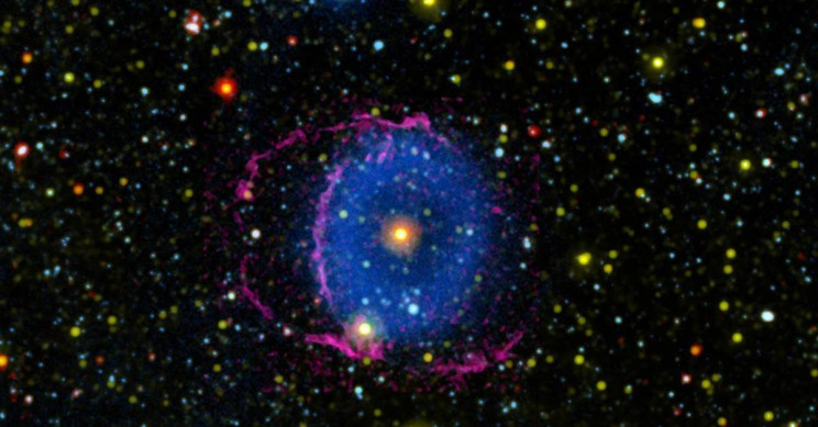 Mystery of the Blue Ring Nebula Uncovered After 16 Years