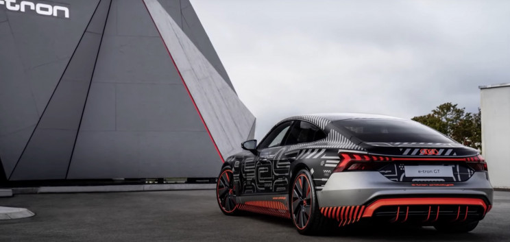 Audi Just Showcased E-Tron, Its First Electric Sports Car