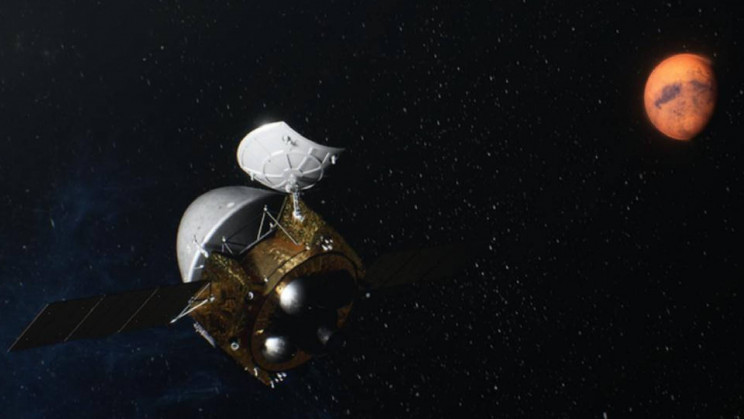 China's Tianwen-1 Prepares for Rover Landing With a Close Shave