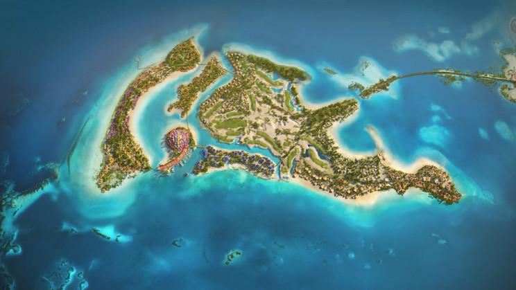 Saudi Arabia Launches Green Nature-Inspired Luxury Island