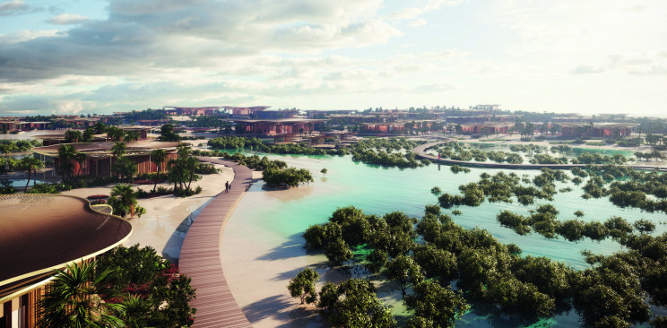Saudi Arabia Launches Green Nature-Inspired Luxury Island